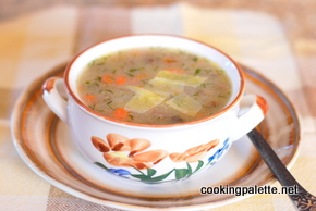 mushroom farina soup (10)