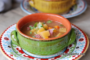 split pea soup with spices  (18)