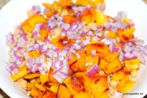 garbanzo pepper tomato salad (4)