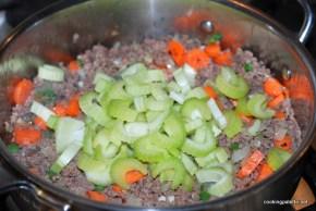 garden veg meat sauce farfalle (10)