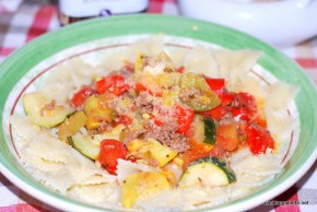 garden veg meat sauce farfalle (20)