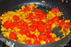 quinoa with peppers and tomatoes (6)