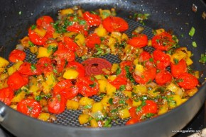 quinoa with peppers and tomatoes (8)