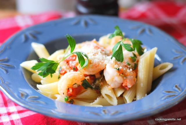 pasta with shrimp  (18)