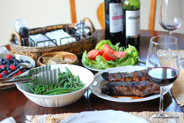 steak with green beens grilled (12)