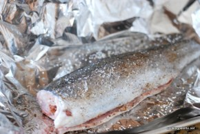 trout in foil with cherry tomatoes (1)