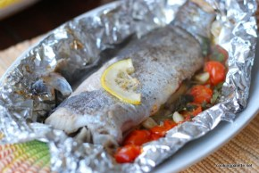 trout in foil with cherry tomatoes (9)