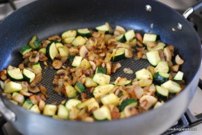 chicken mushroom crustless quiche (2)