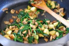 chicken mushroom crustless quiche (5)