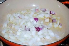 warm salad with garbanzo  (2)