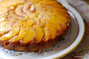 upside down peach cake  (14)