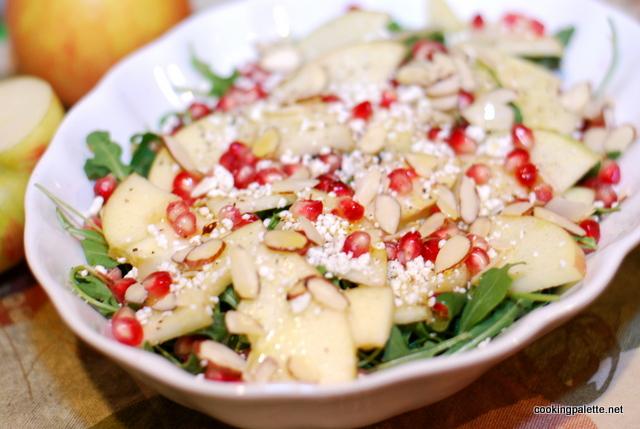 apple pomegranate salad (10)