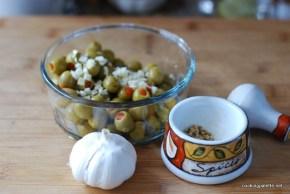 coriander garlic marinated mushrooms (2)