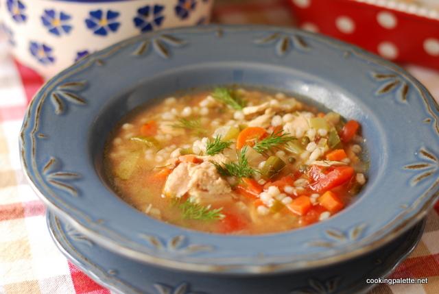 barley fish soup (21)