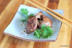 five spice glazed chicken liver (8)