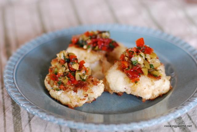 cauliflower olive sundried tomato salsa (2)