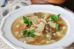 mushroom cauliflower bulgur soup (10)