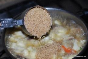 mushroom cauliflower bulgur soup (6)