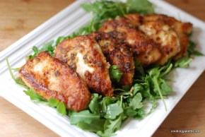 soy ginger chicken on arugula (14)