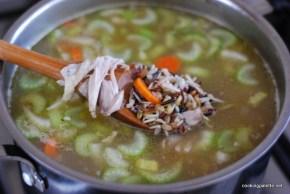 grainy turkey chicken soup (6)