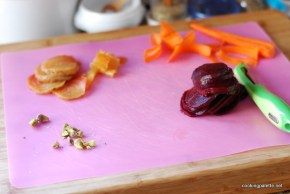 beet carpaccio carrot ribbons salad (1)