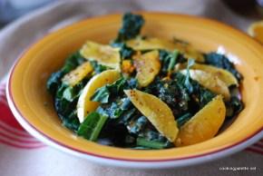 kale orange salad orange vinaigrette (6)