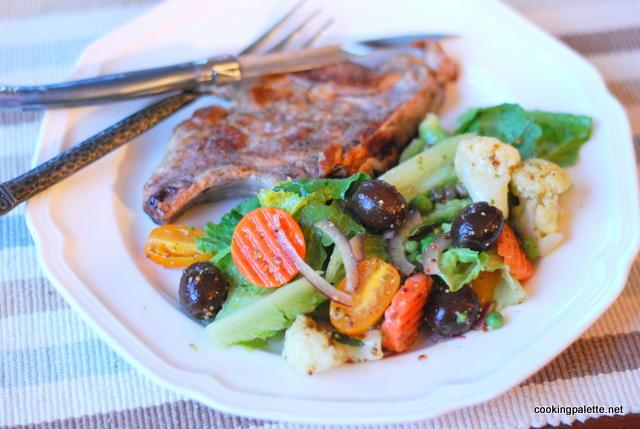 quick marinated vegetable salad (14)