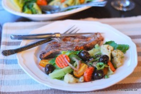quick marinated vegetable salad (15)