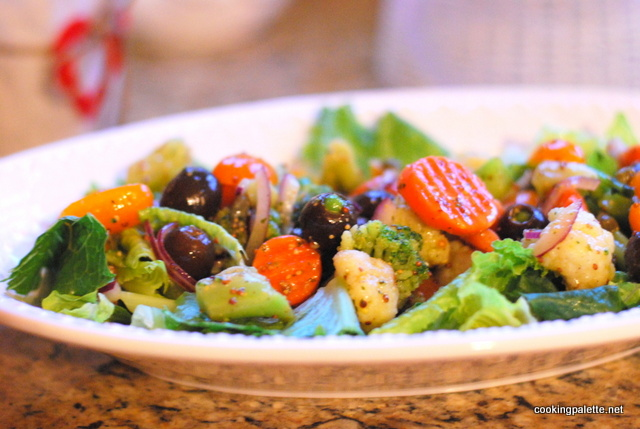 quick marinated vegetable salad (9)