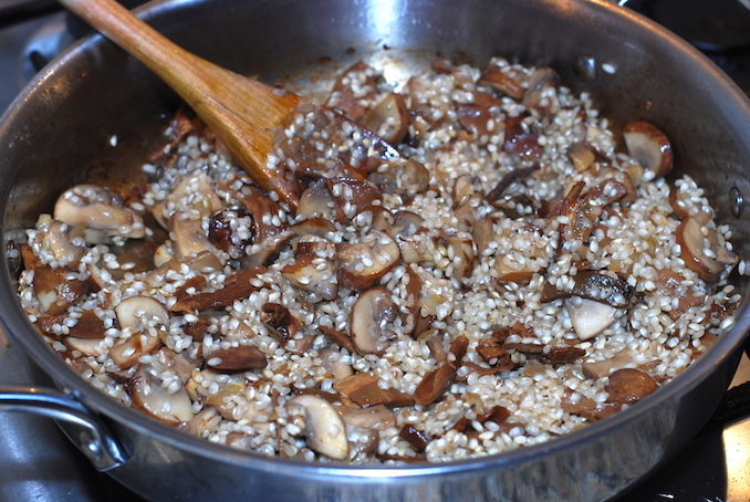 mushroom risotto00013