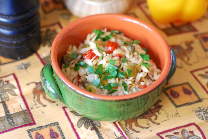 orzo with fried vegetables00017