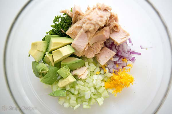 How To Make Avocado Tuna Salad Cooking Pinoy Recipes