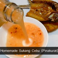 Homemade Sukang Cebu (Pinakurat)/Spiced Vinegar