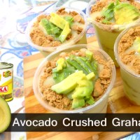 How to Make Avocado Crushed Grahams Float - Negosyo Recipe