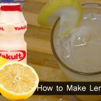 How to Make Lemon Yakult - Healthy Drinks