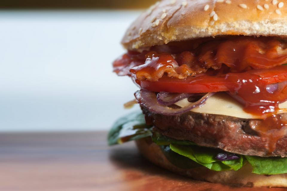 Hamburger de veau au Pesto