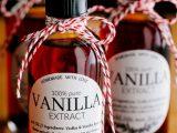 Extrait de vanille en bouteille pour vos recettes de cuisine