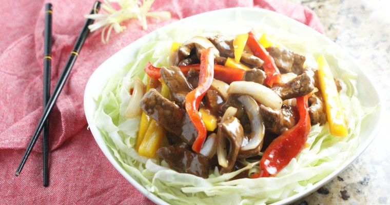 Asian Beef and Cabbage Stir Fry