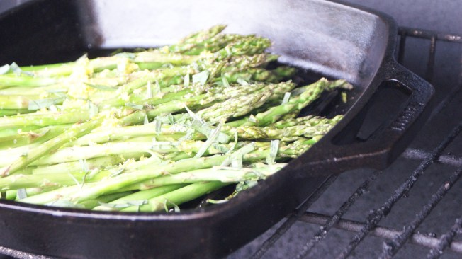 grilled asparagas