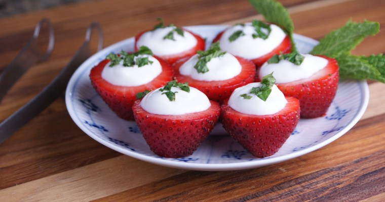 Strawberry Yogurt Bites