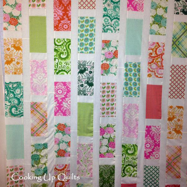 Walk Through the Garden Quilt Top