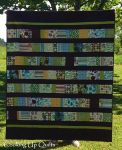 Trail Mix Quilt Finish