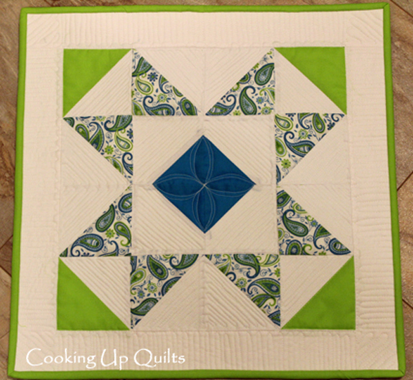Star Burst Mini Quilt
