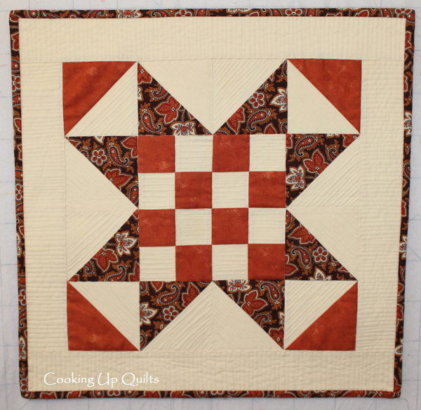 Checker Star Mini Quilt