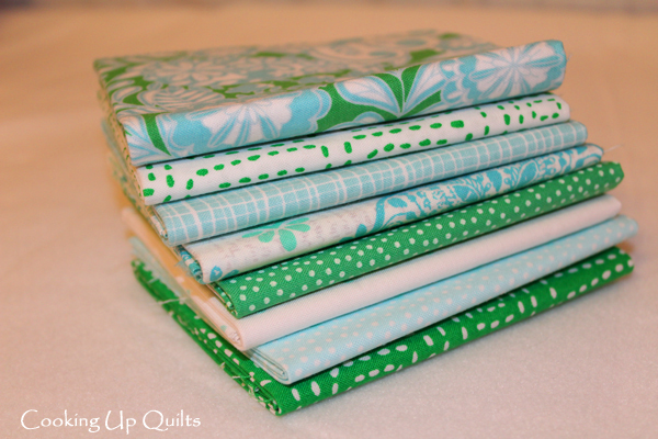 Fat Quarter Bundle FWFS Sea Glass