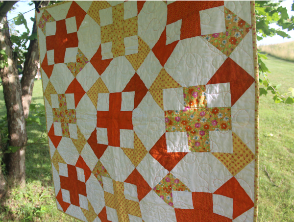 One Plus One quilt
