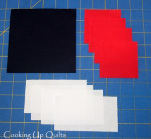 Fabric Requirement Pinwheel block