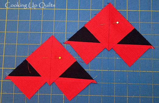 Tutorial pinwheel block