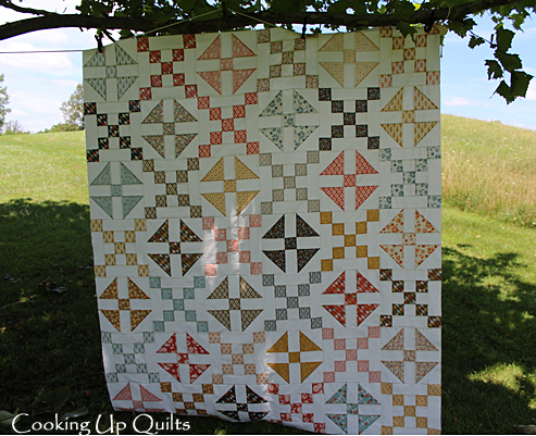 Checkered Past Shoo Fly Quilt Blocks