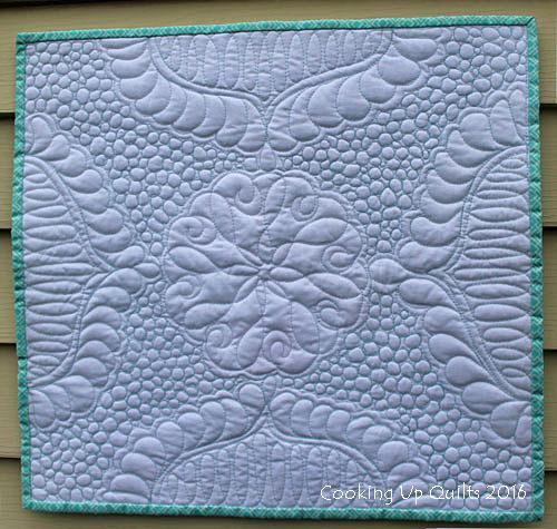 Mini Wholecloth Quilt Texture